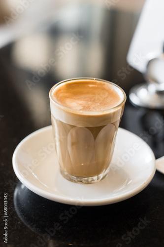 Fotografie, Obraz  coffee piccolo latte