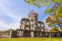 Atomic Bomb Ruins In Hiroshima...