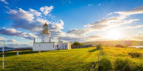 obraz PCV Lighthouse Rosemarkie Bay, Szkocja