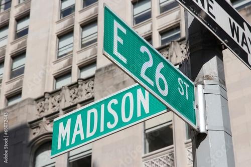 Stampa su Tela Madison Avenue