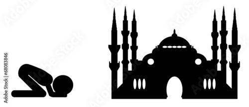 Fotografia, Obraz  Mosque