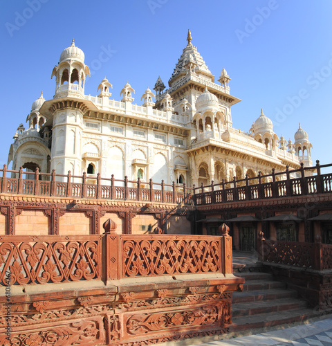 Photo  Jaswant Thada mausoleum in India