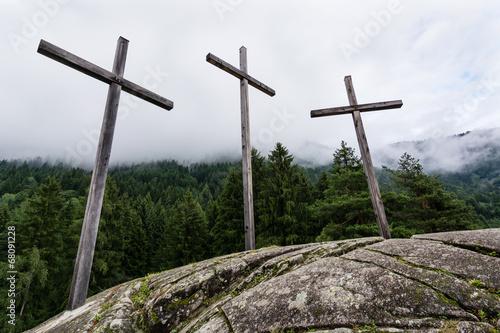 Fotografiet  Three crosses