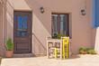 colorful city of Chania, located in Crete, Greece.