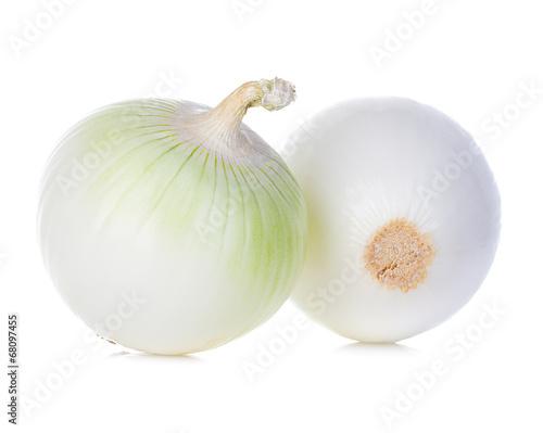 Photo  onions isolated on white background