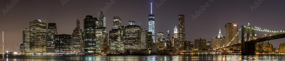 Fototapeta 2014 New York Downtown Panorama