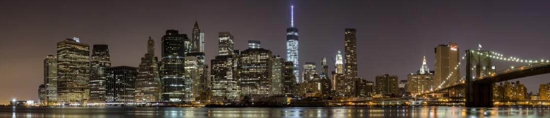 2014 New York Downtown Panorama