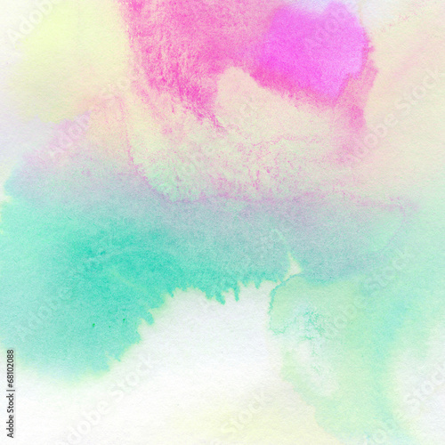 Photo  Abstract colorful watercolor painted background
