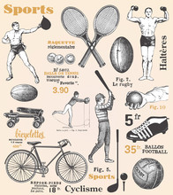 Sport - Poster With French Text