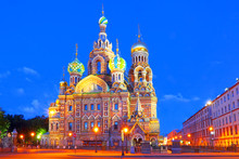 Russia, St. Petersburg. Cathed...