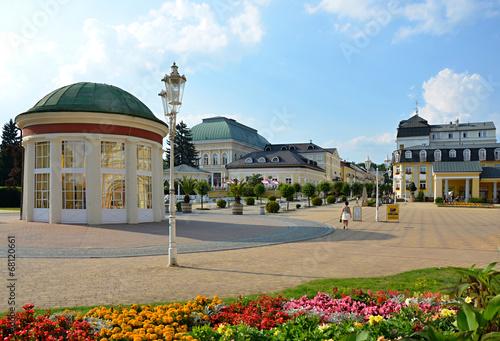 Fotografie, Obraz  Spa colonnade in  Franzensbad in Czech republic