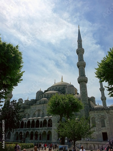 Photo  Mosquee sulthamamet istanbul