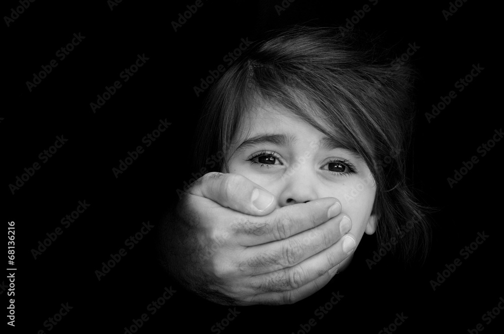 Fototapety, obrazy: Child abduction - Concept Photo