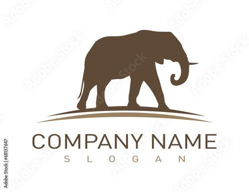 Photo  Elephant logotype
