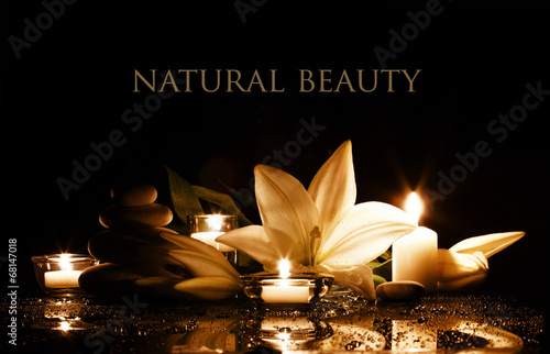 Foto op Canvas Spa spa beauty composition