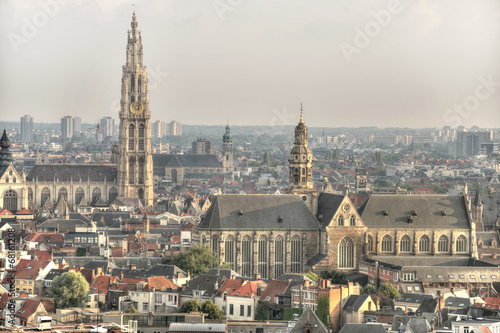 Poster Antwerp Kirchen in Antwerpen