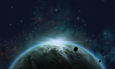Fototapeta kosmiczne tło