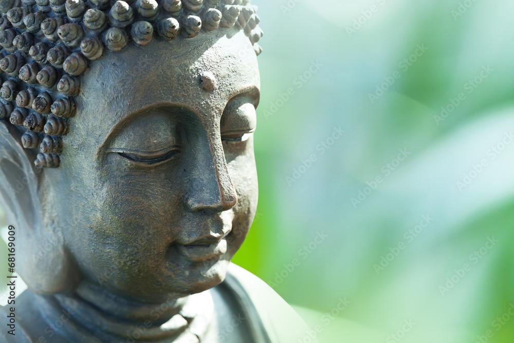 Buddha's head Fototapeta