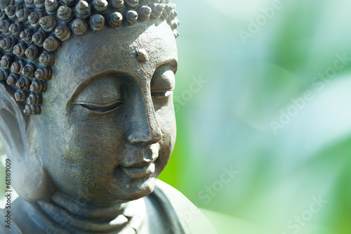 Photo sur Aluminium Buddha Buddha's head