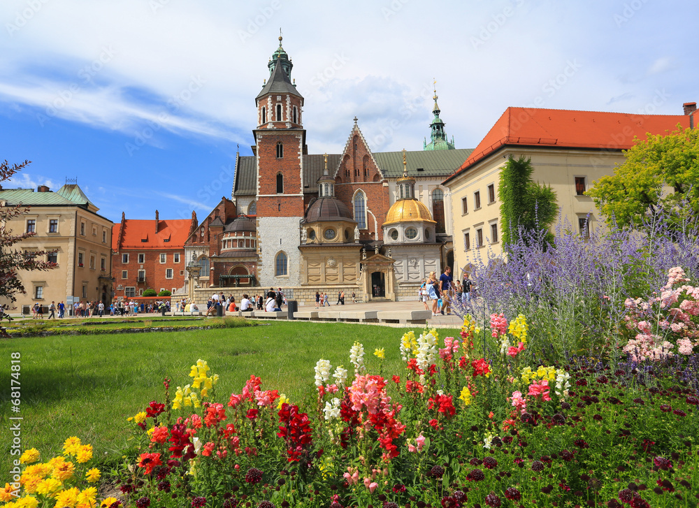 Fototapety, obrazy: Cracow -  Wawel Castle - cathedral