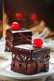 Ciasto czekoladowe z wisienką