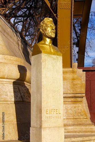 Láminas  Gustave Eiffel Bust