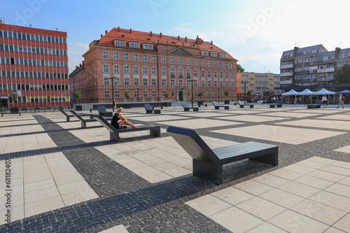 Wrocław - plac Nowy Targ - fototapety na wymiar