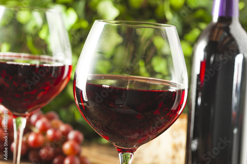 Fotografie, Obraz  Refreshing Red Wine In a Glass