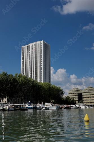 Papiers peints Ville sur l eau Canal parisien