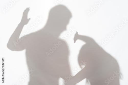 Fényképezés  Violence of man against woman