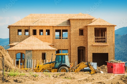 Fotografia, Obraz  New House Building