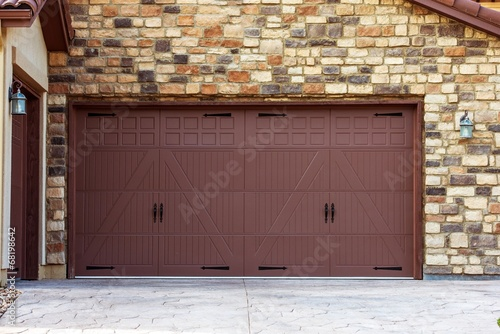 Fotografie, Obraz  Wide Garage Doors
