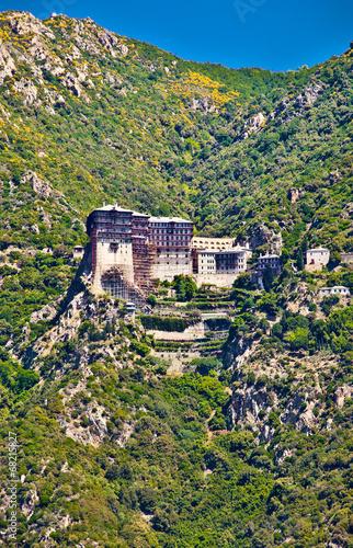 Fotografie, Obraz  Simonopetra monastery at Mount Athos, Greece.