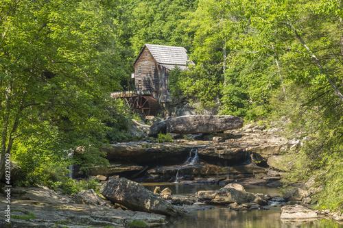 Aluminium Prints Mills Glade Creek Grist Mill
