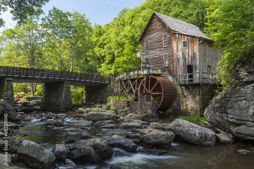 Photo sur Toile Moulins Glade Creek Grist Mill