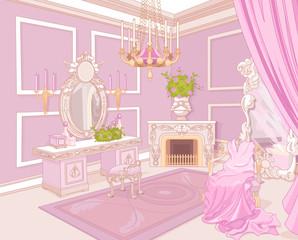fototapeta pokój księżniczki