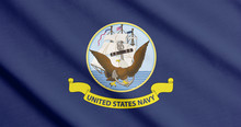 Flag Of The US Navy