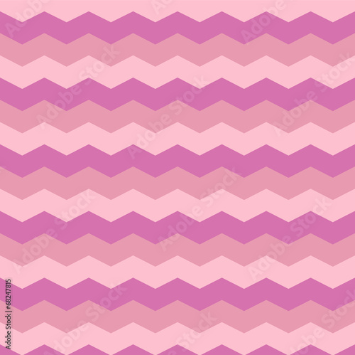 Foto op Canvas ZigZag Abstract pink background