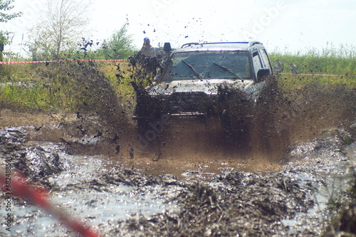 Cars in the mud #68248859