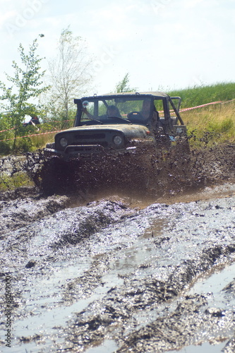 Cars in the mud #68249000