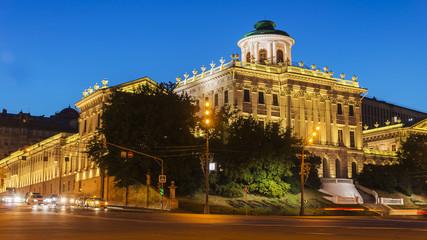 Fototapeta na wymiar Pashkov House in Moscow, Russia