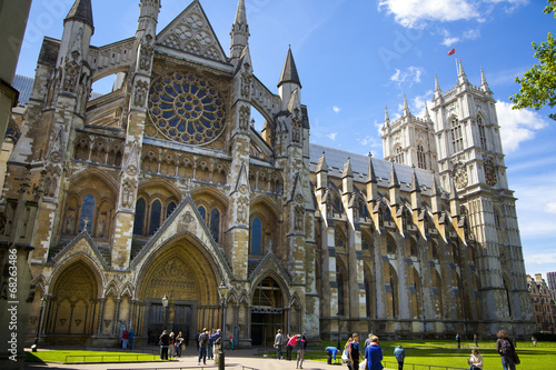 Obraz na płótnie London, Westminster abbey