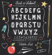 Vintage Back To School Chalkbo...