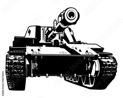 Fotografia  heavy tank
