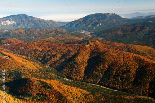 Alpine landscape in Bucegi Mountains, Romania, Europe #68276852