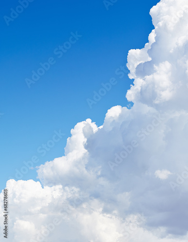 Canvas Print - Blue sky with cloud