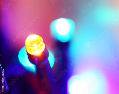 LED bulbs Canvas Print