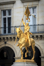 Statue Joan Of Arc In Paris