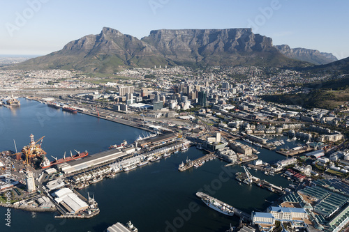 Photo Stands South Africa Cape Town - Aerial View