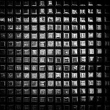 Silver Mosaics Background
